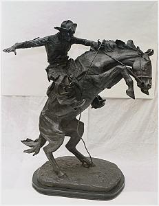 Frederic Remington Bronze, Bronco Buster