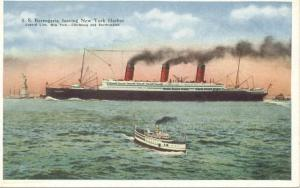 SS Berengaria, Cunard Line immigrant ship that my grandmother and father emigrated on