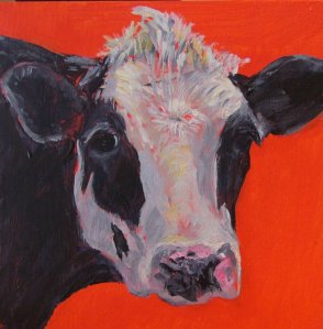 Moo Cow 1, by Sandy Katz, http://www.katzmeow.net/artwork/