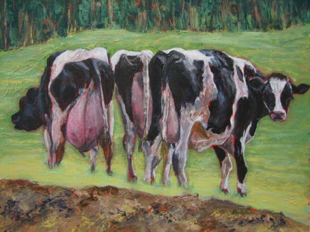 Udderly Loverly, by Sandy Katz, http://www.katzmeow.net/artwork/