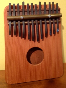 The mbira I built from a kit